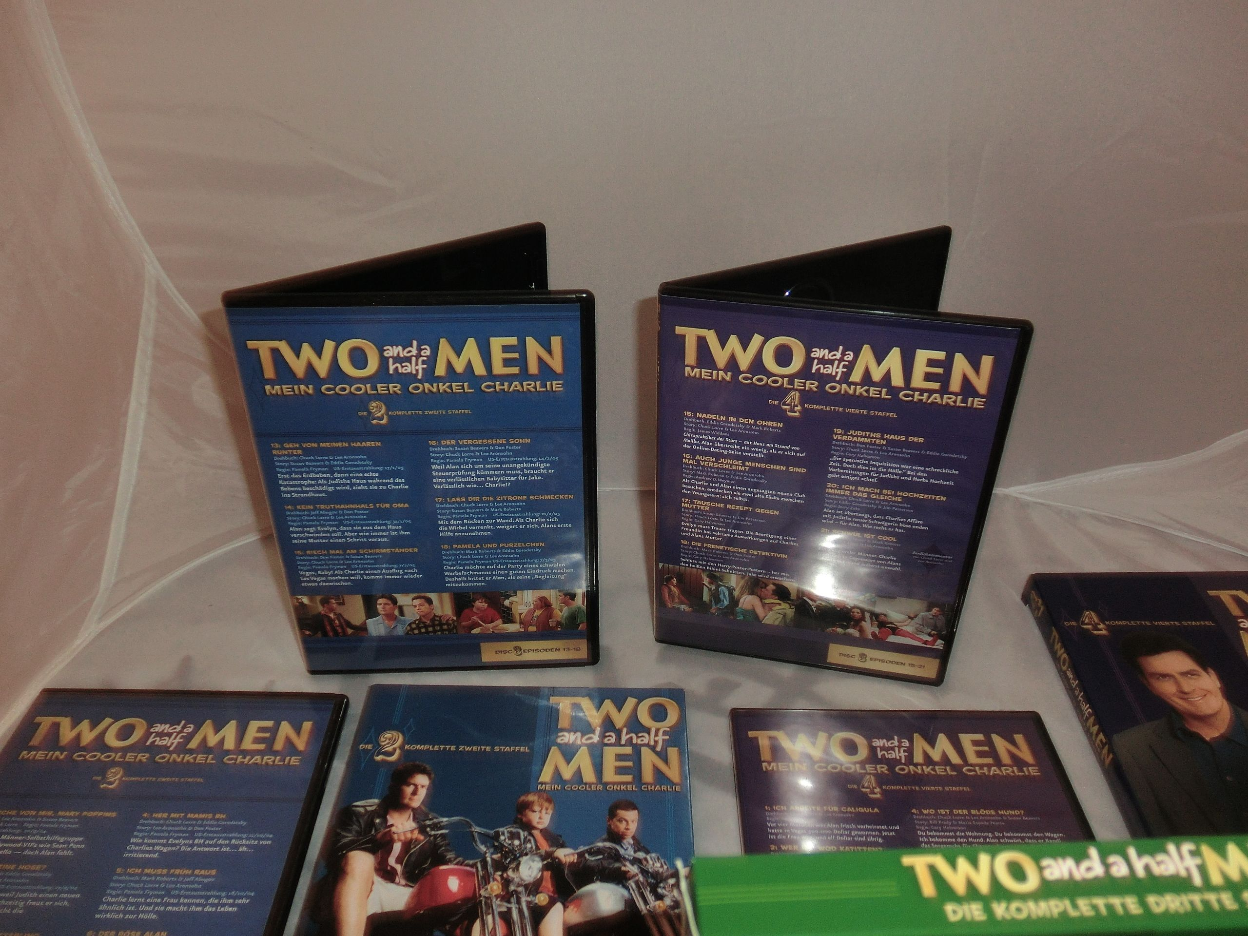 Two and a half men staffel 2 6 19dvds 2400 minuten for A decoration none