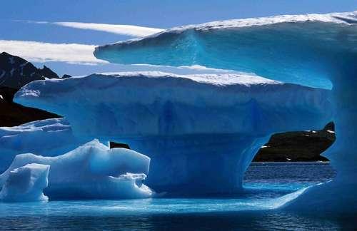 Inverno na Groenlândia