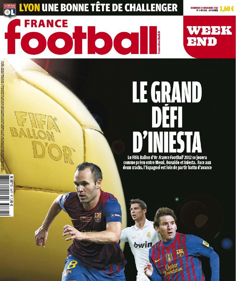 France Football Week-end - 30 Novembre 2012