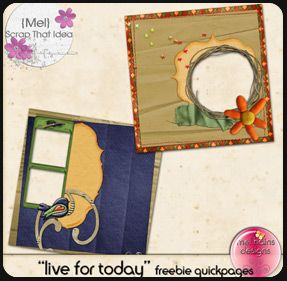 Digital Scrap Book Template