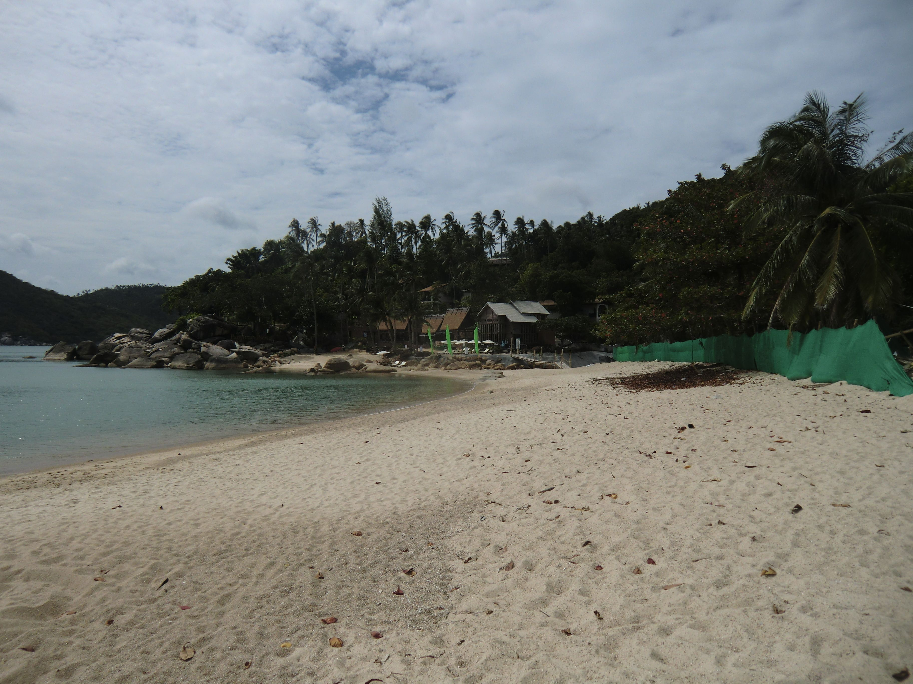 der Strand von Thong Nai Pan Noi rechtsseitig