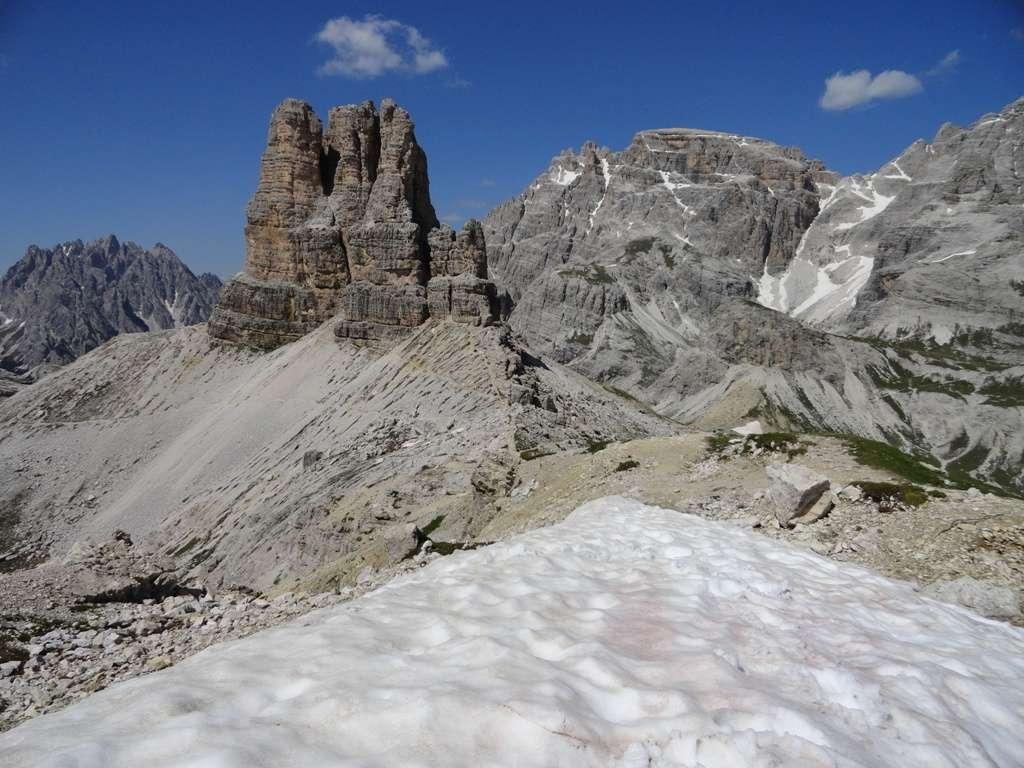 sehen die berge in den dolomiten anders aus